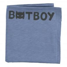 Lange en jersey de coton Batboy Bleu