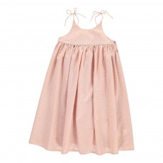 Robe Lurex Léa Rose pâle