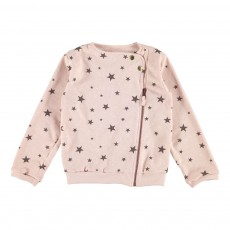 Sweat Perfecto Etoiles Justine Rose pâle