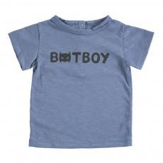 """T-Shirt """"Batboy"""" Tom Bleu indigo"""