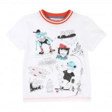 T-Shirt Street Blanc