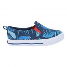 Slip-On Tropical Bleu
