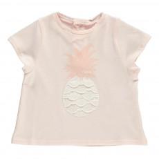 T-Shirt Ananas Rose pâle
