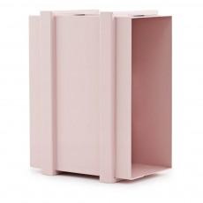 Casier de rangement Color Box superposable Rose