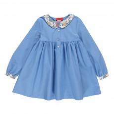 Robe Col Liberty Bleu