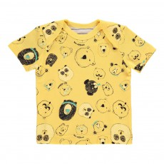 T-Shirt Bear Different Jaune