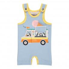 Combishort Ice Cream Truck Bleu ciel