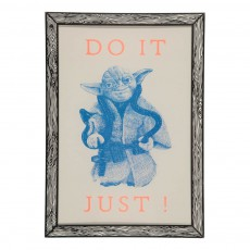 Affiche Do it Just 29,7x42 cm Multicolore