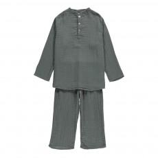 Kurta   Pantalon Dan Bleu gris