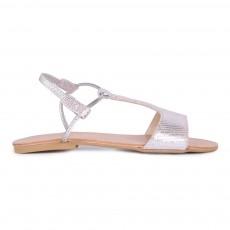 Sandales Cuir Centauro Mikonos Argenté