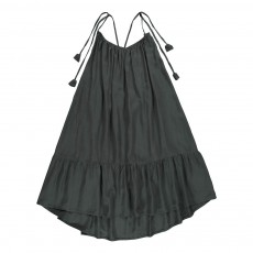 Robe Dos Nu Carolina Gris anthracite