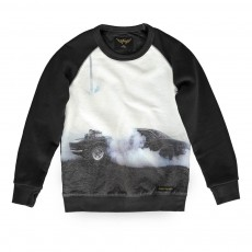 Sweat Voiture Burn Hank Noir