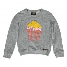 Sweat Popcorn Gris chiné