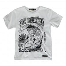 T-Shirt Superhéros Dalton Blanc