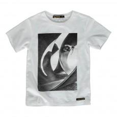 T-Shirt Skateur Dalton Blanc