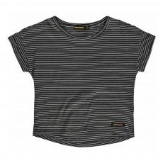T-Shirt Rayé Britney Noir