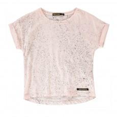T-Shirt Spots Britney Rose pâle