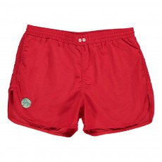 Short de Bain Jonas Rouge