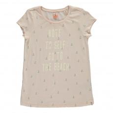 T-shirt Ancres Rose pâle