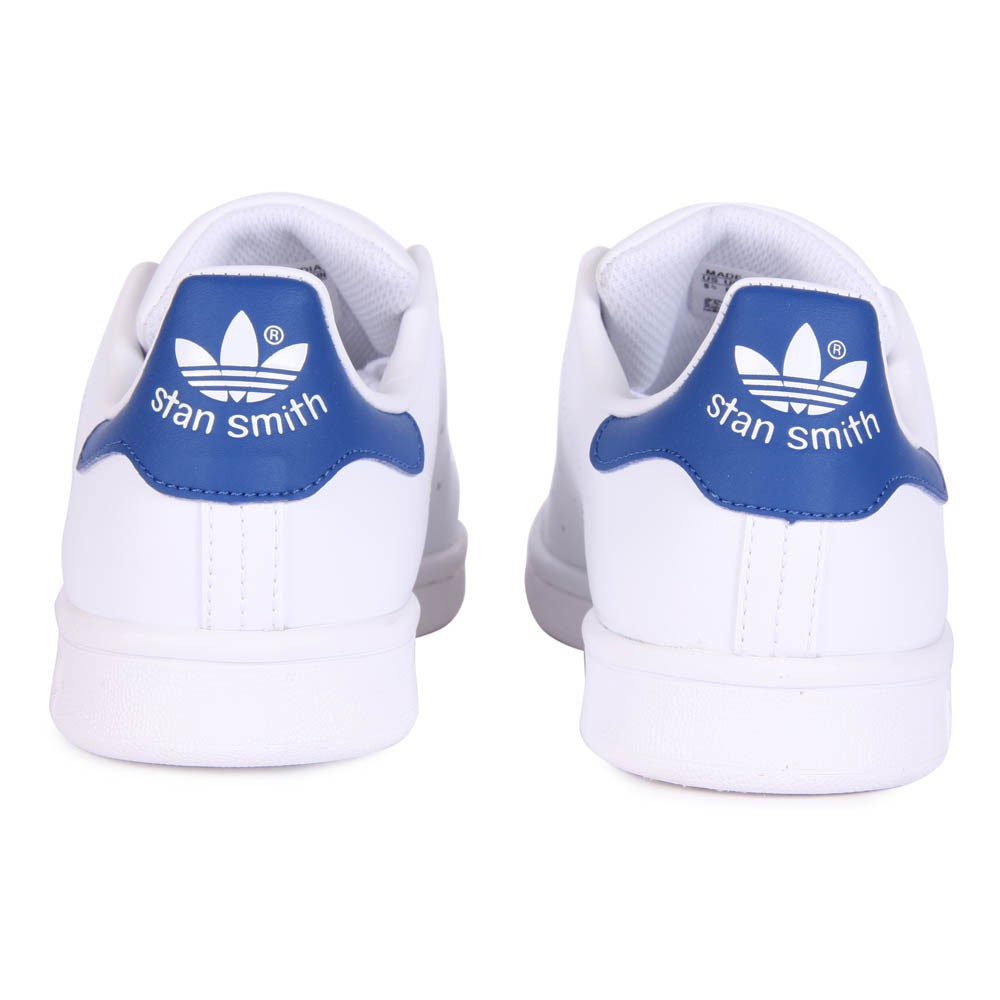 baskets lacets stan smith bleu blanc adidas chaussures. Black Bedroom Furniture Sets. Home Design Ideas