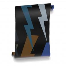 Papier-peint Foudre 182x280 cm - 2 lés Multicolore