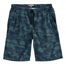 Short de Bain Camouflage Booby Bleu gris