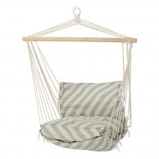 Chaise hamac rayé Vert pâle