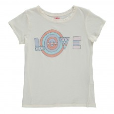 "T-Shirt ""LOVE"" Ecru"