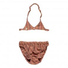 Bikini Rayé Vieux Rose