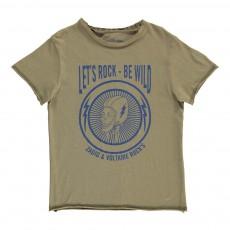 T-Shirt Rock Kita Vert kaki