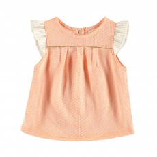Blouse Smart Rose pêche