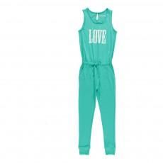 "Combinaison ""Love"" June Bleu turquoise"