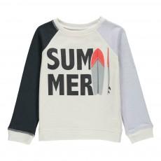 """Sweat """"SUMMER"""" Ecru"""