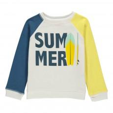"Sweat ""SUMMER"" Jaune"