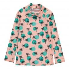 T-Shirt Anti-UV Palmiers Astin Rose
