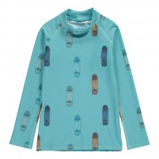 T-Shirt Anti-UV Skates Astin Bleu ciel