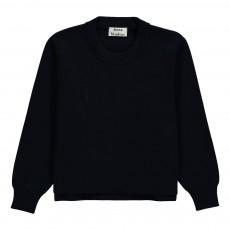 Pull Zips Coton Mini Misty Bleu nuit