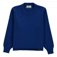 Pull Zips Coton Mini Misty Bleu