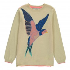 Pull Oiseau Lulu Rose