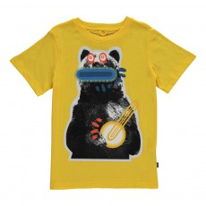 T-Shirt Monstre Chuckle Jaune