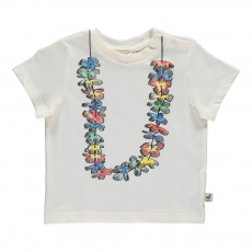 T-Shirt Hawaïen Chuckle Blanc