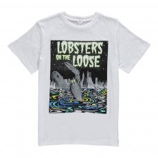 "T-Shirt ""Lobsters On The Loose"" Arlo Blanc"