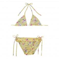 Bikini Fleurs Jaune