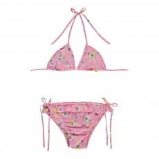 Bikini Fleurs Rose