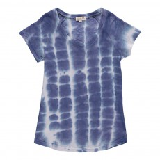 T-Shirt Tie & Dye Norbert Bleu indigo