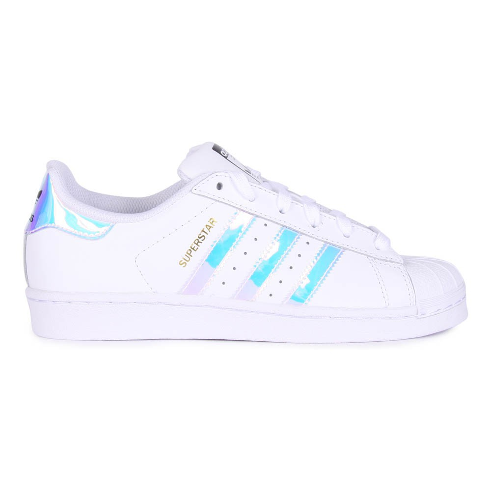 baskets lacets superstar iris blanc adidas chaussures. Black Bedroom Furniture Sets. Home Design Ideas