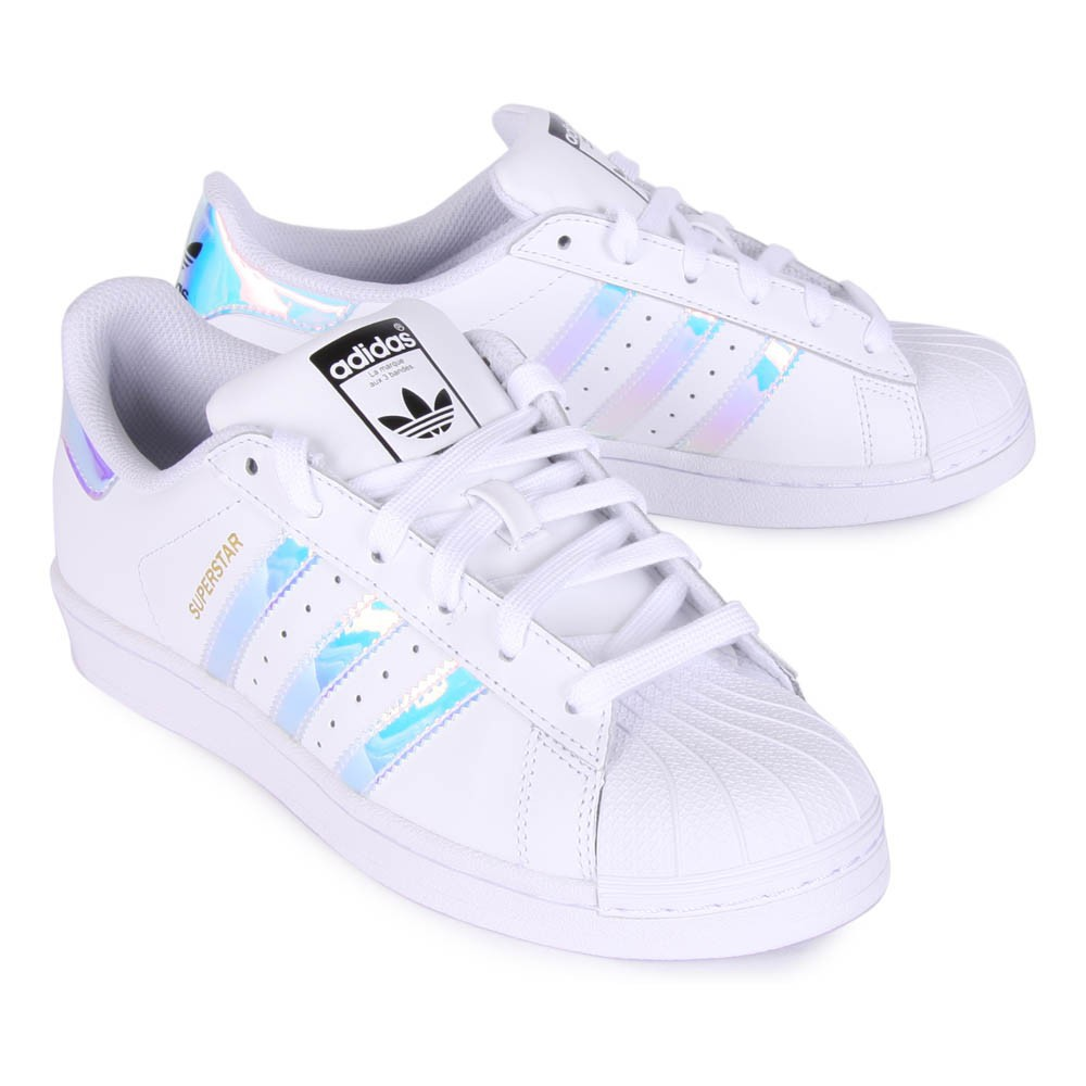 adidas superstar bande verte superstar bandes holographique