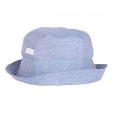 Chapeau Lin Duncan Bleu gris