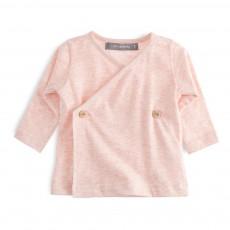 T-Shirt Cache-Coeur Maria Rose chiné
