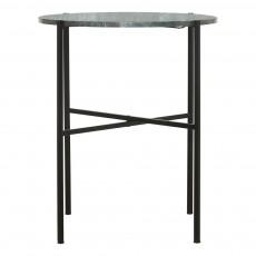 Table plateau marbre D45 cm